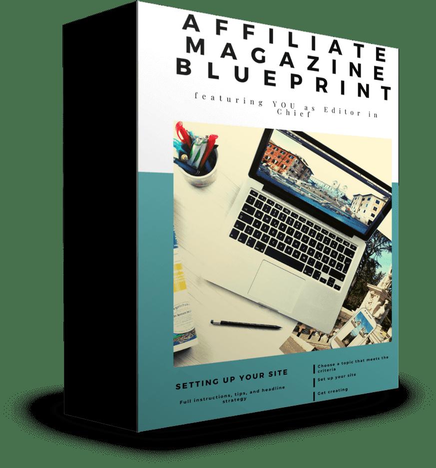 学习如何在你最喜欢的利基市场建立自己的在线杂志(Affiliate Magazine Blueprint)