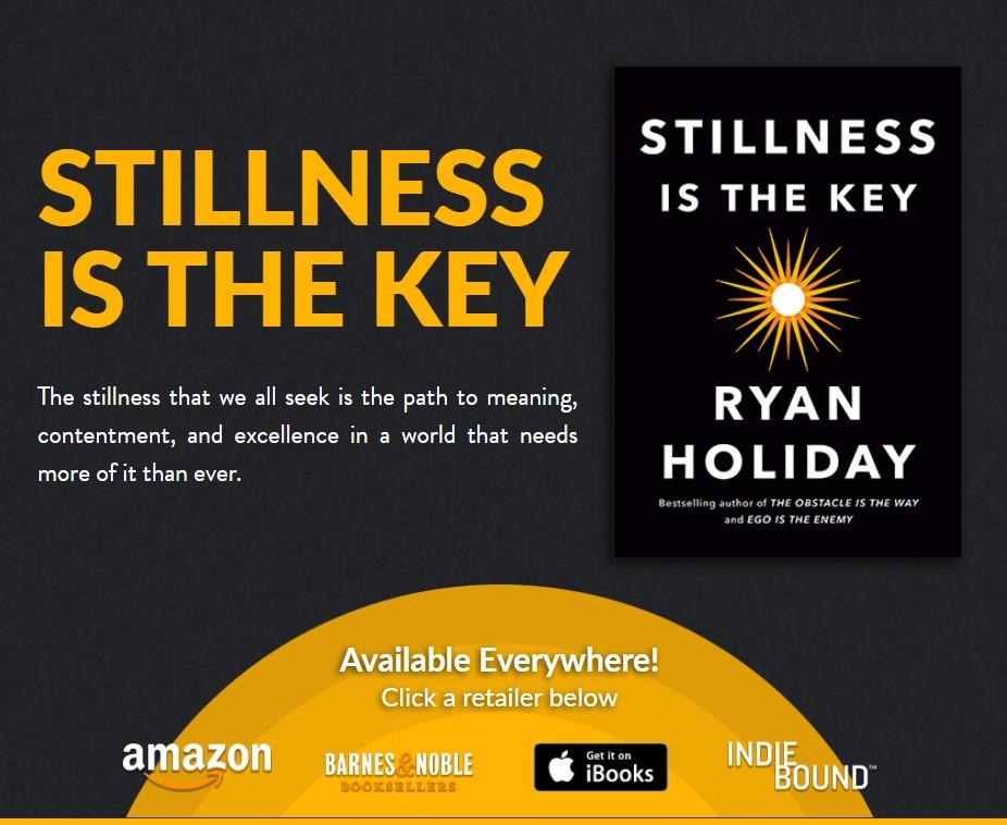 学习下所有伟大的领袖、思想家、艺术家、运动员和梦想家都有一个不可磨灭的特质(Stillness Is the Key)