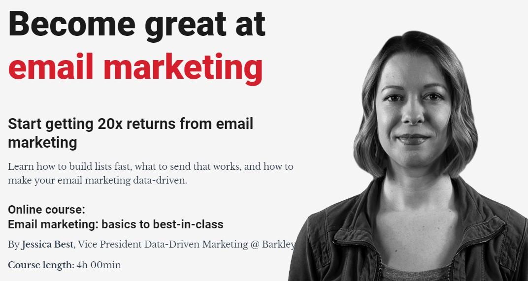 学习如何快速建立邮件订阅列表(Email Marketing - Basics to Best-in-Class)