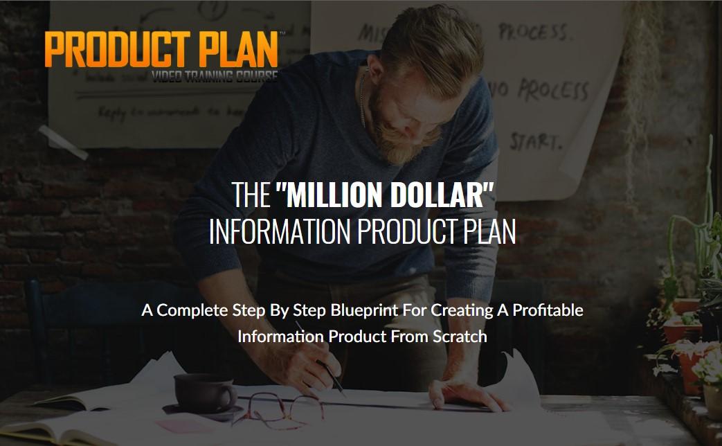 一个从头创建可盈利信息产品的完整的蓝图(Product Plan)