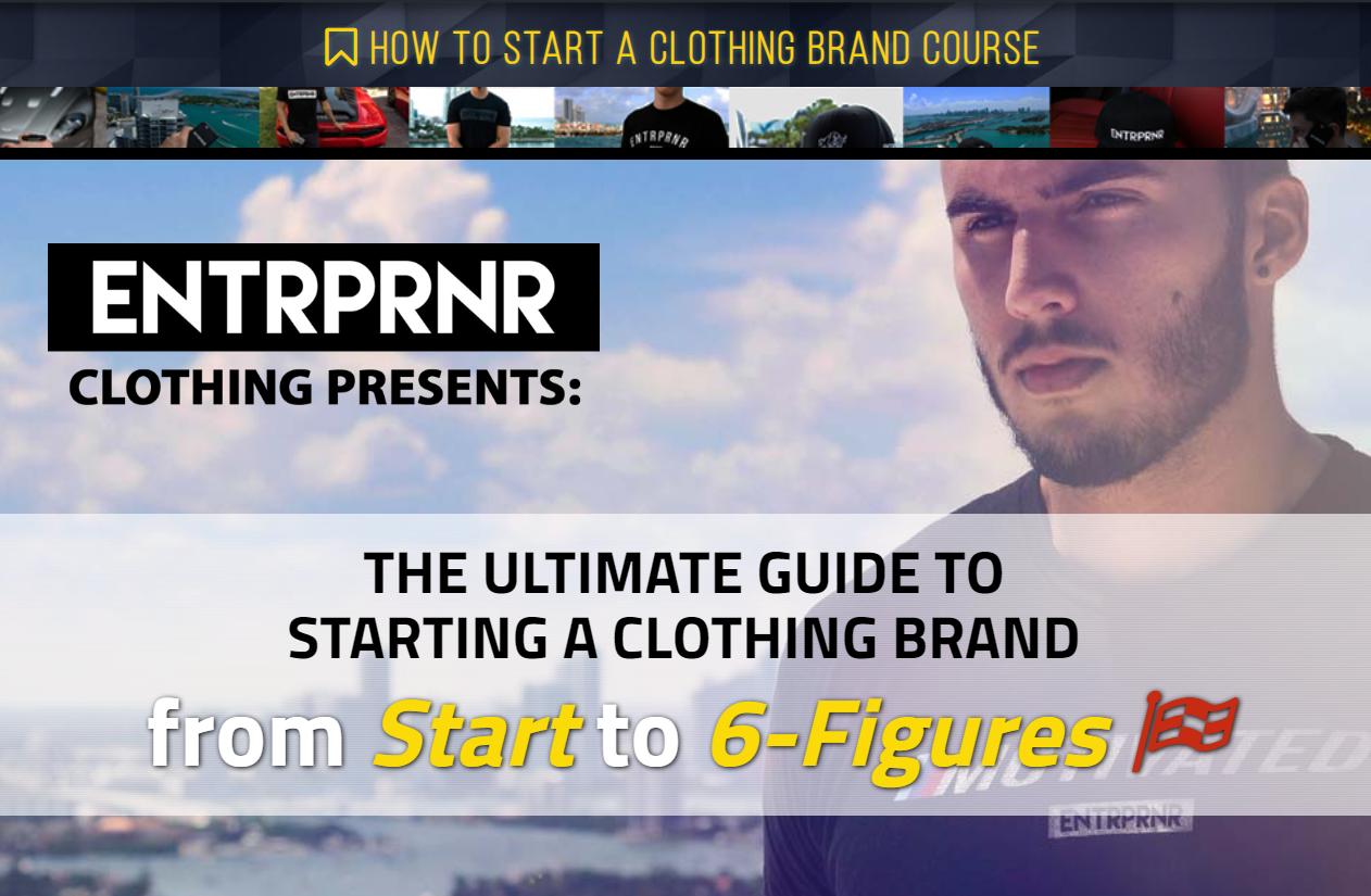 实战:一个人如何从一个想法开始, 一步一步地创建一个六位数的服装品牌。(How to Start a Clothing Brand)