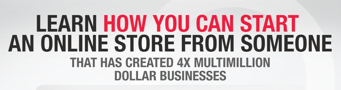 教你如何开始精确并快速获得利润,在网上销售产品。(Start & Scale)