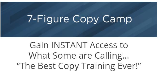 一种新的书写方式,两步轻松的公式,百万美元垂手可得!(7-Figure Copy Camp)