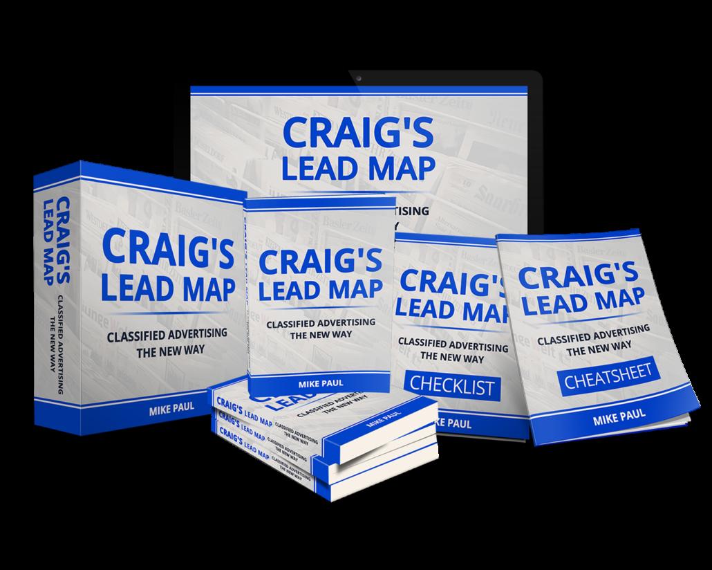 如何通过Craigslist把美元变成数千美元,简单易学!(Craig's Lead Map)